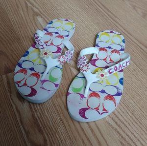 Coach Flip-Flop Sandals